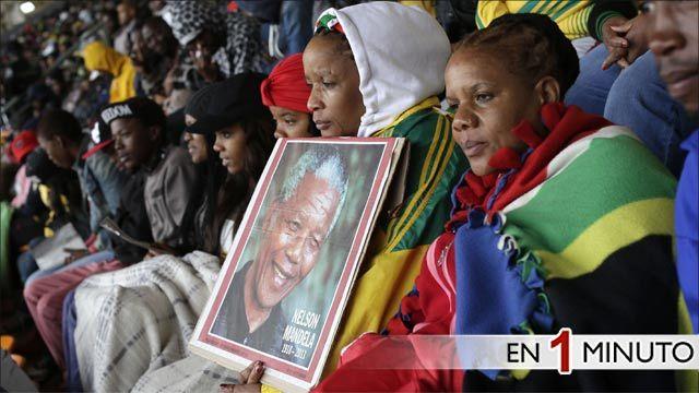 Ceremonia en honor a Nelson Mandela