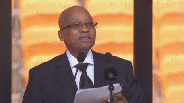 جاكوب زوما رئيس جنوب أفريقيا