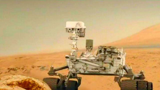 المسبار كريوستي فوق كوكب المريخ