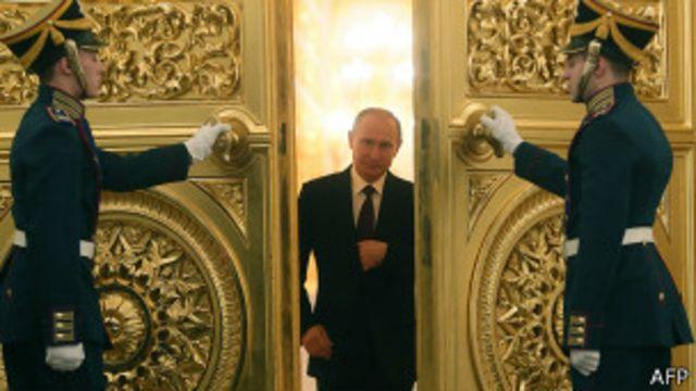 """Путин в послании обличил """"аморальный интернационал"""""""