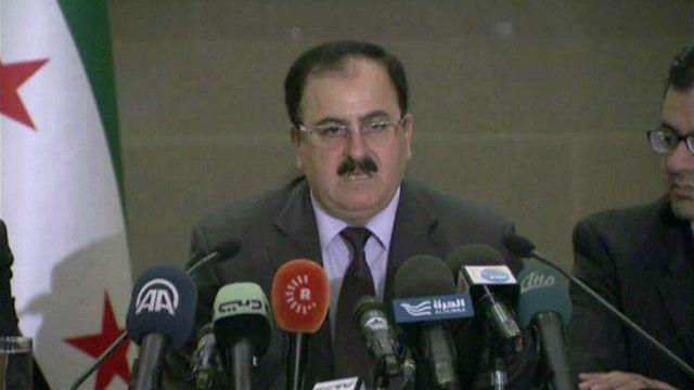 سليم إدريس رئيس أركان الجيش السوري الحر