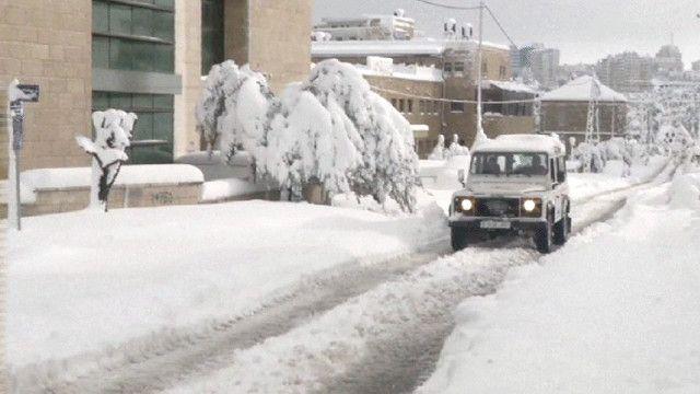 الثلوج في عمان