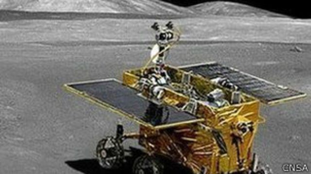 China llegó a la Luna