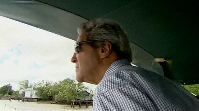Ngoại trưởng Mỹ John Kerry đi thăm vùng sông Mekong