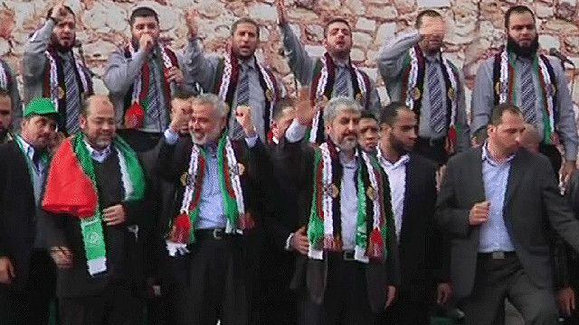 أعضاء من حركة حماس