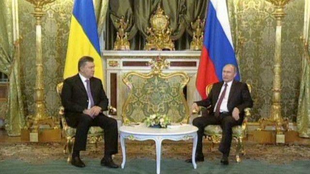 الرئيس الروسي والرئيس الأوكراني