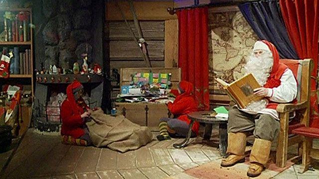 Ông già Noel trả lời thư trẻ em