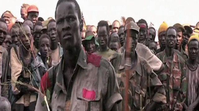 متمردون معارضون لحكومة جوبا