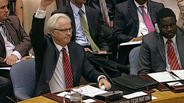 المندوب الروسي في مجلس الأمن