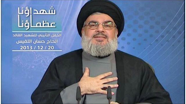حسن نصر الله أمين عام حزب الله اللبناني