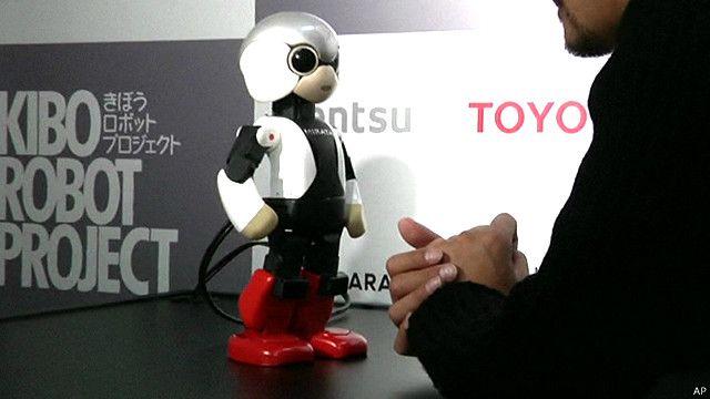 Japan talking robot