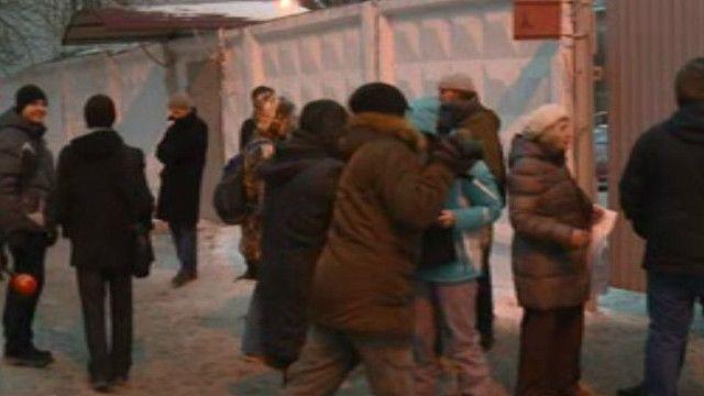 У стен колонии в Нижнем Новгороде