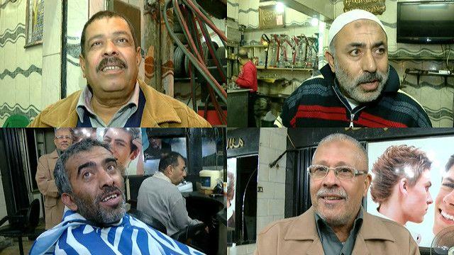 مواطنون مصريون