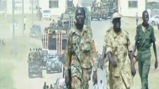 جنود جنوب سودانيين