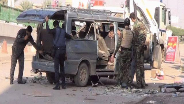 آثار التفجيرات في العراق