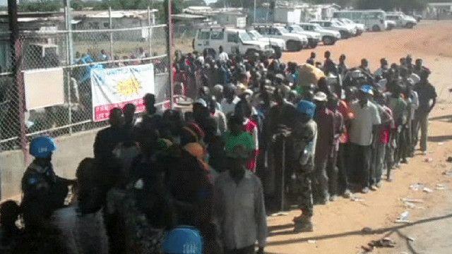 مواطنون من جنوب السودان