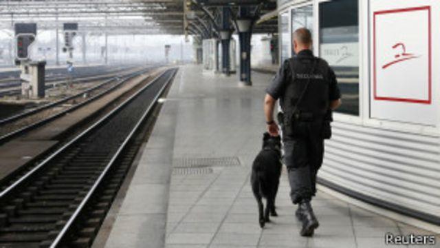 Bélgica: evacúan estación de tren por amenaza de bomba
