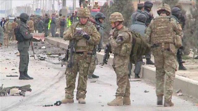 جنود قوات التحالف في أفغانستان