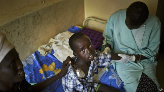پیشروی شبه نظامیان جوان به سوی شهر بور در سودان جنوبی