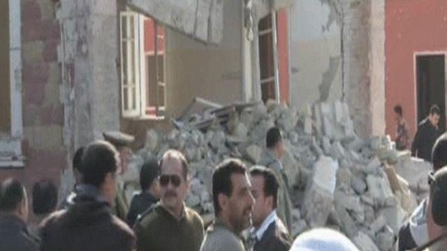 آثار التفجير
