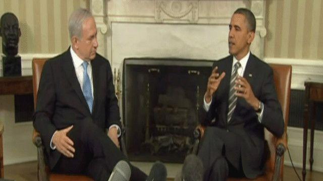 نتنياهو في لقاء مع أوباما خلال 2013