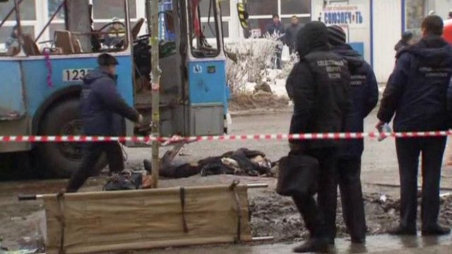 انفجار حافلة بفولغوغراد جنوبي روسيا