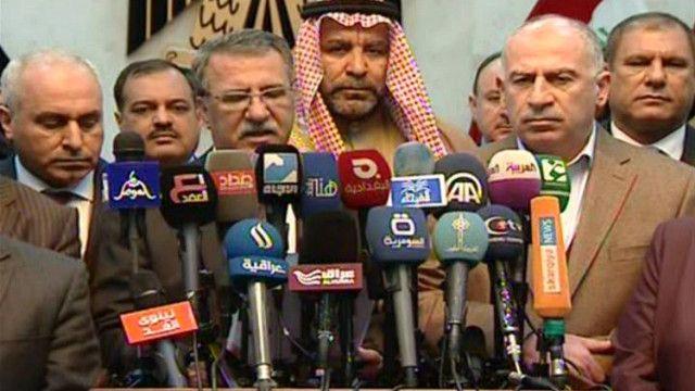 ظافر العاني متحدث باسم كتلة متحدون في البرلمان العراقي
