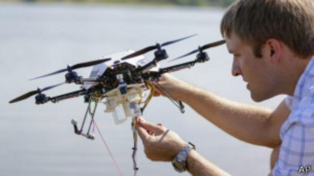"""EE.UU. designa sitios de prueba de """"drones"""" comerciales"""