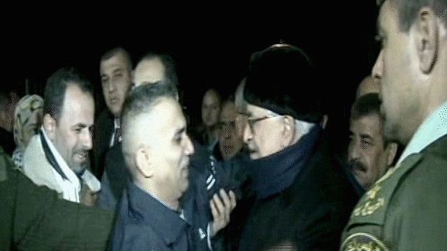 عباس في استقبال المعتقلين المفرج عنهم في رام الله