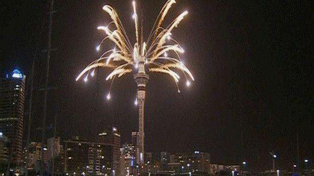 العام الجديد يحل مبكرا في نيوزيلاند مقارنة بالدول الأخرى