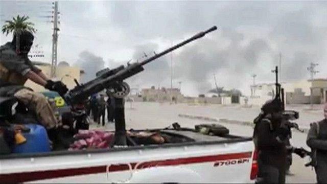 """مسلحو """"داعش"""" يسيطرون على أجزاء من الفلوجة"""