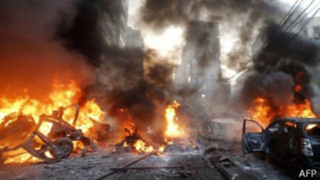انفجار بيروت: مجلس الأمن يستنكر بقوة وحزب الله يدعو للوحدة