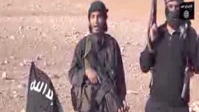 مقاتلين من تنظيم الدولة الإسلامية في العراق والشام
