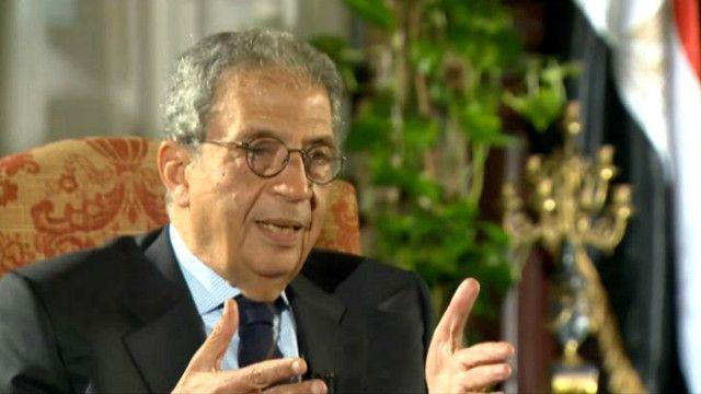 عمرو موسى رئيس لجنة الخمسين لتعديل الدستور