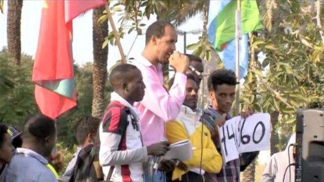 آلاف المهاجرين الأفارقة في إسرائيل يواصلون احتجاجهم