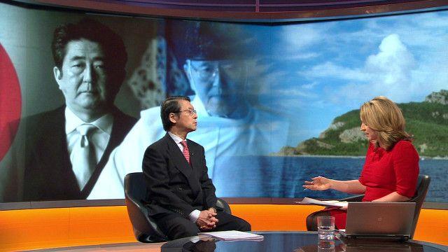 Ông Keiichi Hayashi, đại sứ Nhật Bản tại Anh Quốc