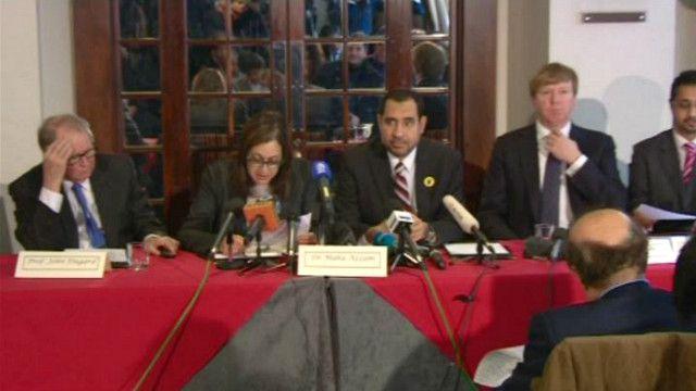 الفريق القانوني الموكل من قبل حزب الحرية والعدالة في مصر