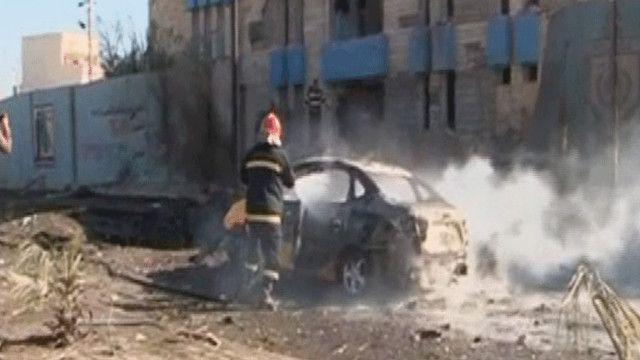 التفجير استهدف مركزا للشرطة في كركوك