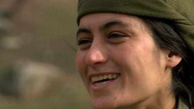 Combatiente del PKK