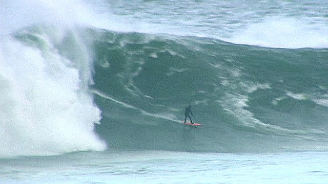 Surfista en Irlanda