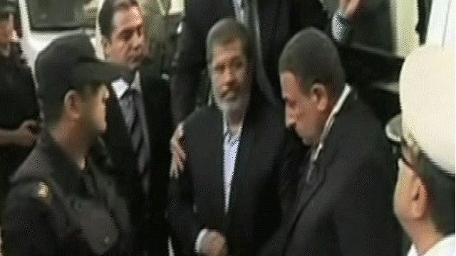 محمد مرسي الرئيس المصري المعزول