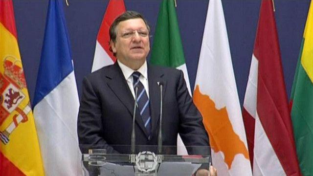 خوسيه مانويل باروزو رئيس المفوضية الأوروبية