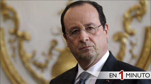 El presidente de Francia François Hollande