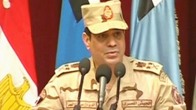عبد الفتاح السيسي وزير الدفاع المصري