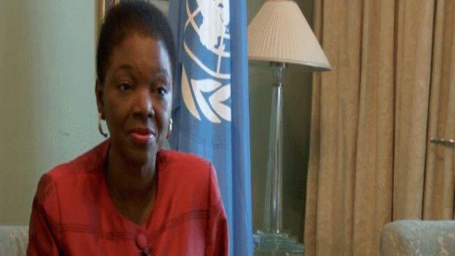 فاليري أموس مساعدة الأمين العام للأمم المتحدة للشؤون الإنسانية