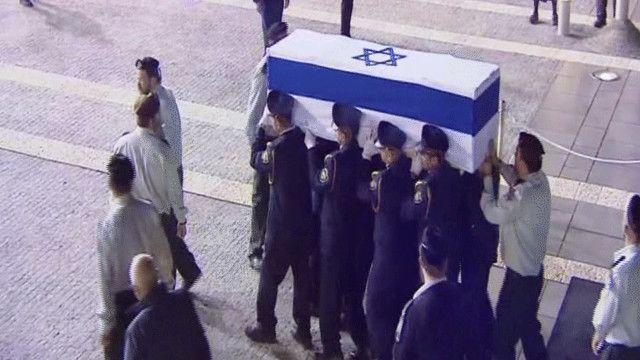 مراسم دفن آرييل شارون