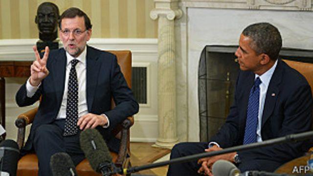 Rajoy y Obama defienden recuperación económica de España