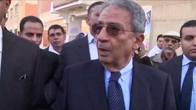 عمرو موسى رئيس لجنة الخمسين لتعديل الدستور المصري