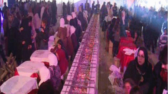 احتفال في القيروان التونسية بالمولد النبوي