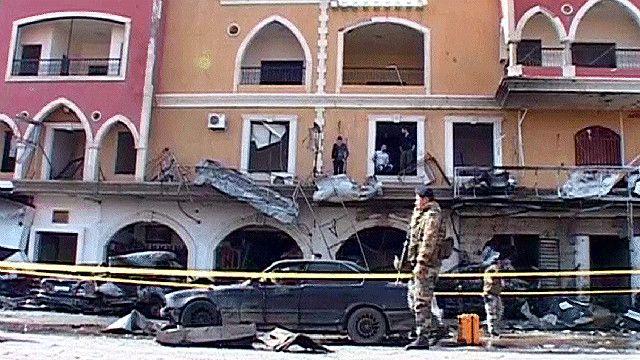 موقع التفجير